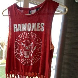 H&M Ramones muscle tee